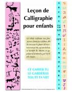 Calligraphie pour enfants